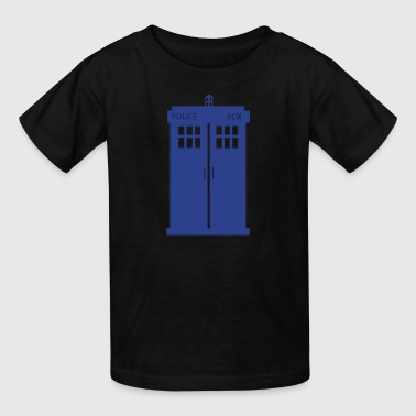 Doctor Who tardis - Kids' T-Shirt