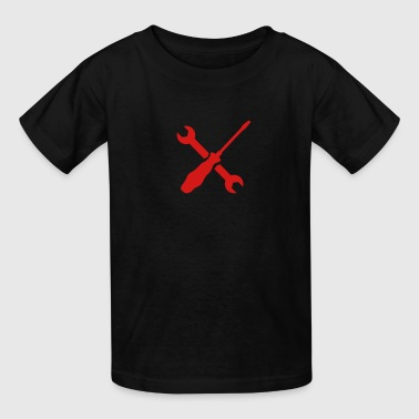 Screwdriver wrench - Kids' T-Shirt