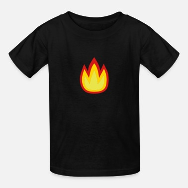 On Fire For Jesus Fire - Kids' T-Shirt