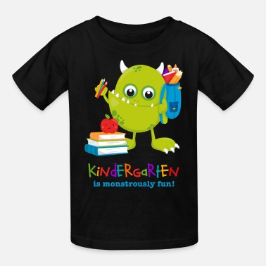 Kindergarten Monster Kindergarten Fun - Kids' T-Shirt
