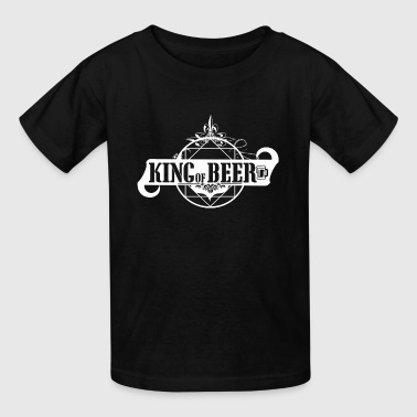 King of Beer Okotoberfest beer garden - Kids' T-Shirt
