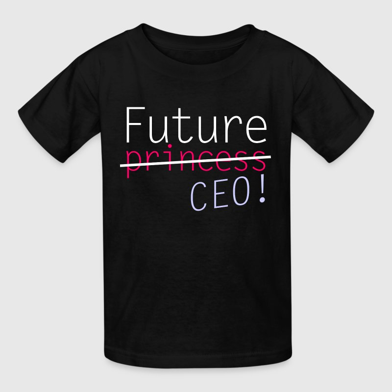 Future Princess CEO - Kids' T-Shirt