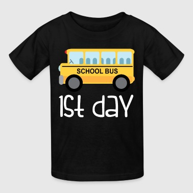 Back School Bus 1st Day Back to School Bus - Kids' T-Shirt