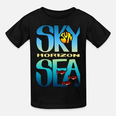 Sea And Sky - Kids' T-Shirt