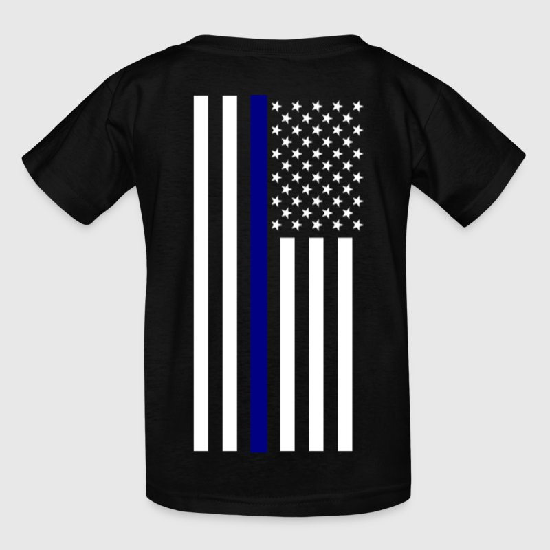 Thin Blue Line - Kids' T-Shirt
