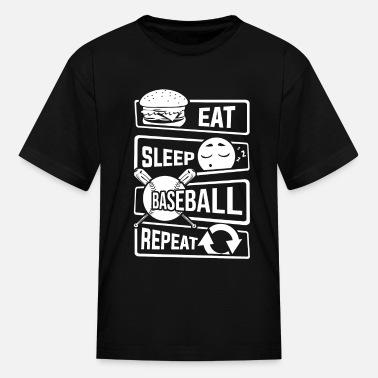 Eat Sleep Baseball Home Run Tshirt