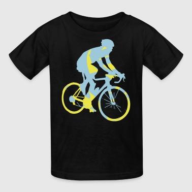 Bicycle Bike Tour Sport Cyclist Cycling Mountain - Kids' T-Shirt