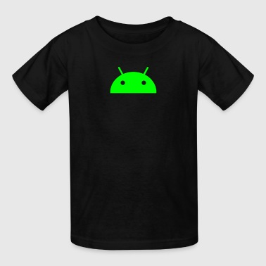 Android Head - Kids' T-Shirt