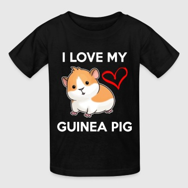 I Love My Guinea Pig - Kids' T-Shirt