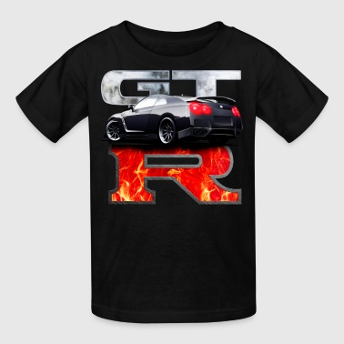 GTR In flames - Kids' T-Shirt