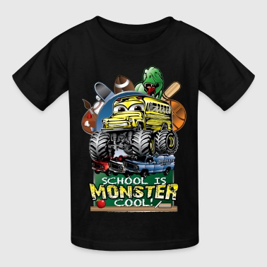 Monster School Bus - Kids' T-Shirt