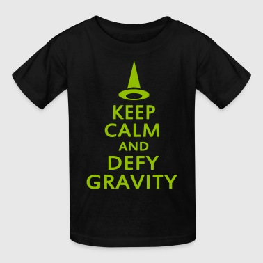 Defy Gravity. Wicked Witch. - Kids' T-Shirt
