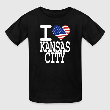 i love kansas city - Kids' T-Shirt