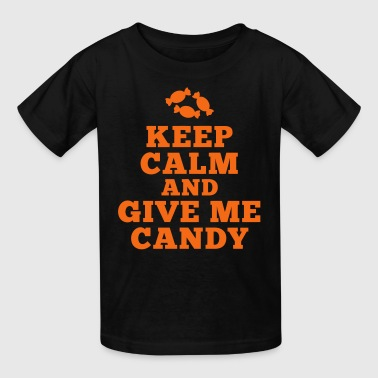 keep calm give me candy - Kids' T-Shirt