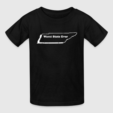 TENNESSEE - WORST STATE EVER - Kids' T-Shirt