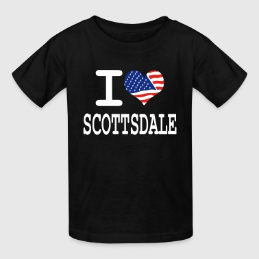 i love scottsdale - white - Kids' T-Shirt