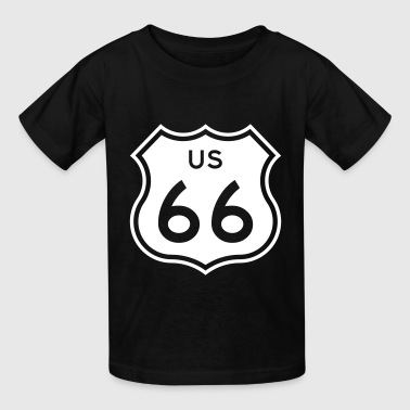 Route 66 - Kids' T-Shirt