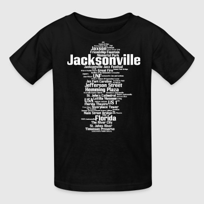 Jacksonville (Florida, USA, The River City) - Kids' T-Shirt
