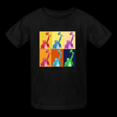 Hammer Pop Art Warhol Style Gift - Kids' T-Shirt