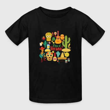 Cactus Mexican Vibes - Kids' T-Shirt