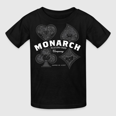 Monarch Playing Cards - Kids' T-Shirt