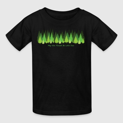 May the Forest Be with You - Kids' T-Shirt