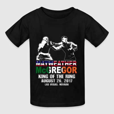Floyd Mayweather & Conor McGregor Fight Shirt - Kids' T-Shirt