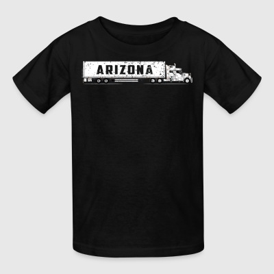 Semi Truck Driver Arizona CDL Training Shirt Gift - Kids' T-Shirt