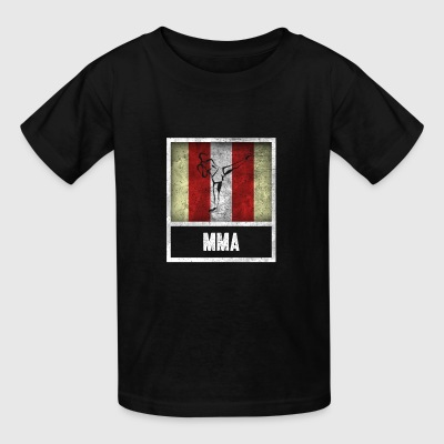 Distressed Design for MIXED MARTIAL ARTS - Kids' T-Shirt
