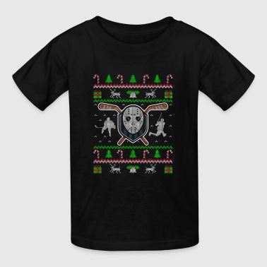 Hockey Ugly Christmas Sweater gift - Kids' T-Shirt