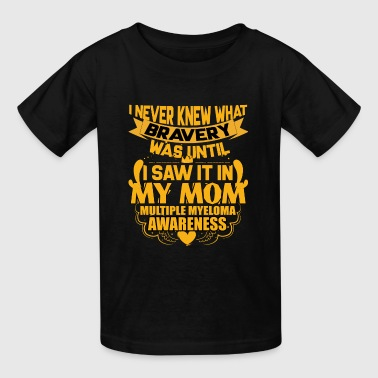 Multiple Myeloma Awareness For My Mom T Shirt - Kids' T-Shirt
