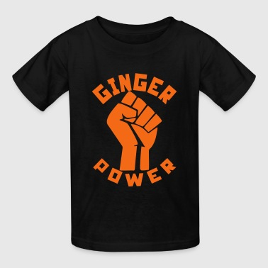Ginger Power - Kids' T-Shirt