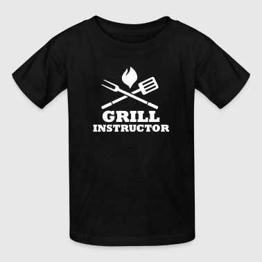Grill Instructor - Kids' T-Shirt