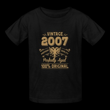 Vintage 2007 Premium Quality Orginal - Kids' T-Shirt