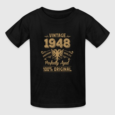 Vintage 1948 Premium Quality Orginal - Kids' T-Shirt
