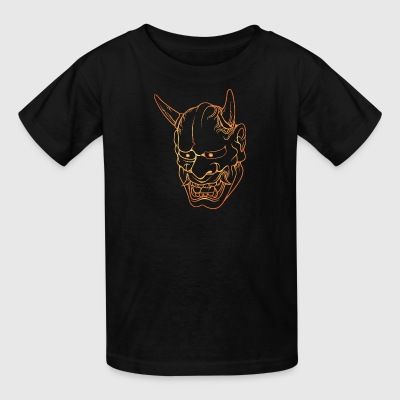 gold_japan_demon - Kids' T-Shirt