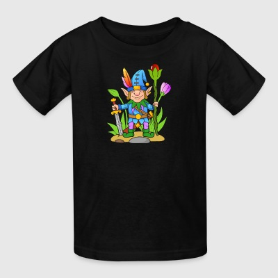 Elf-sword-tale-flowers-plants - Kids' T-Shirt