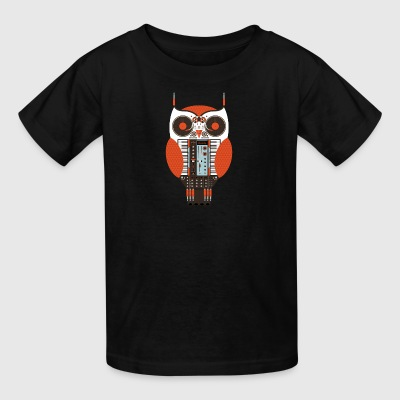 Owl DJ - Kids' T-Shirt