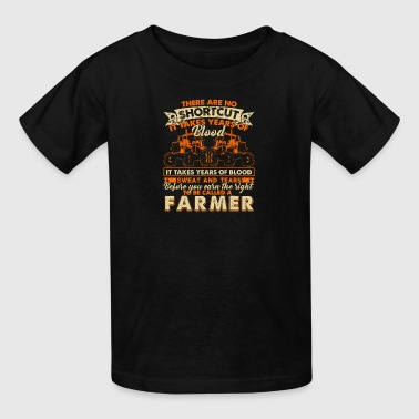 FARMER SHORTCUTS SHIRT - Kids' T-Shirt