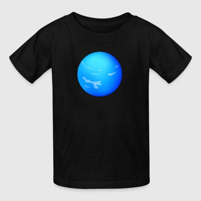 Cartoons-funny-planet-Neptun-space - Kids' T-Shirt