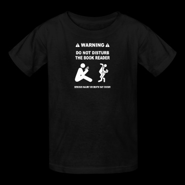 THE BOOK READER - Kids' T-Shirt