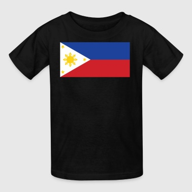 Flag of the Philippines Cool Filipino Flag - Kids' T-Shirt