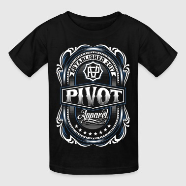 PIVOT APPAREL crest - Kids' T-Shirt