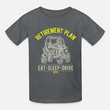 UTV SxS Retirement Plan - Kids' T-Shirt