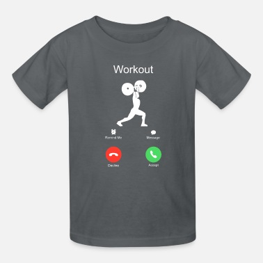 Crossfit call crossfit workout of the day WOD sports - Kids' T-Shirt