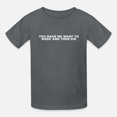 Psych Tv Weep and then Die - Kids' T-Shirt