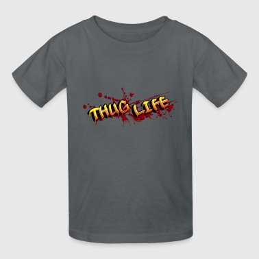thuglife red - Kids' T-Shirt