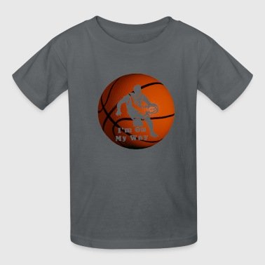 Basketball Player Pro In The Making! - Kids' T-Shirt