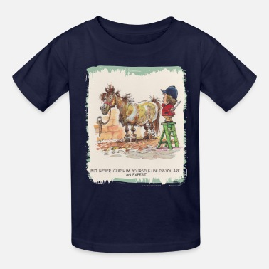 Norman Thelwell Thelwell Hairdresser Be A Expert - Kids' T-Shirt