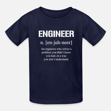 Definition of Engineer - Kids' T-Shirt